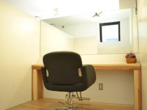 店内の個室